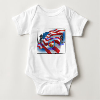 navy woman baby bodysuit