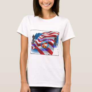 navy woman T-Shirt