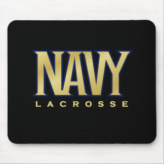 Navy Women's Lacrosse Mouse Pad