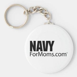 NavyForMoms.com Keychain