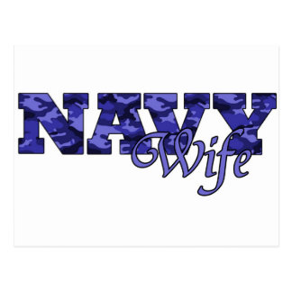 navywife postcard