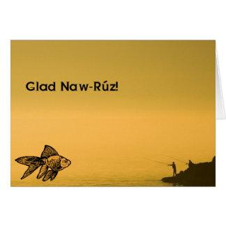 ¡Naw-Rúz alegre! Tarjeta De Felicitación