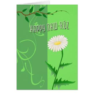 Naw-Ruz feliz Tarjeta De Felicitación