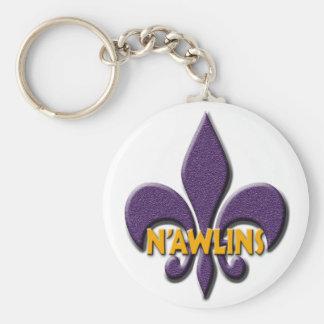 Nawlins Llavero Redondo Tipo Pin