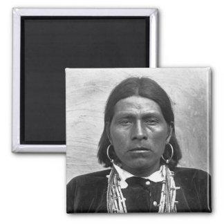 Nawquistewa - foto 1901 de Oraibi del indio del Imán Cuadrado