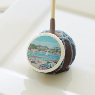 Naxos Beach - Chocolate Cake Pops