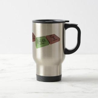 Nay as Na Sodium and Y Yttrium Travel Mug