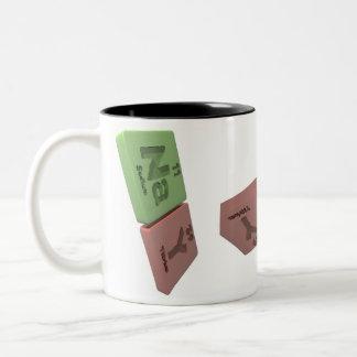 Nay as Na Sodium and Y Yttrium Two-Tone Coffee Mug