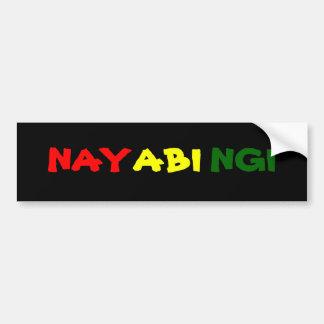 Nayabingi Bumper Sticker