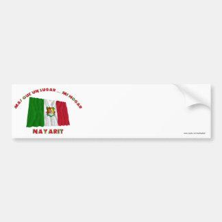 Nayarit - Más Que un Lugar ... Mi Hogar Bumper Sticker
