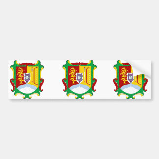 Nayarit Shield, Mexico Car Bumper Sticker