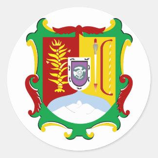 Nayarit Shield, Mexico Classic Round Sticker