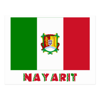 Nayarit Unofficial Flag Postcard