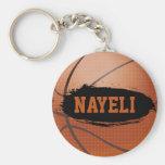 Nayeli Personalized Basketball Keychain / Keyring