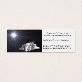 Nayjevin's Alternative Thincard Mini Business Card