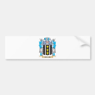 Naylor Coat of Arms - Family Crest Car Bumper Sticker