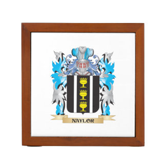 Naylor Coat of Arms - Family Crest Desk Organizers