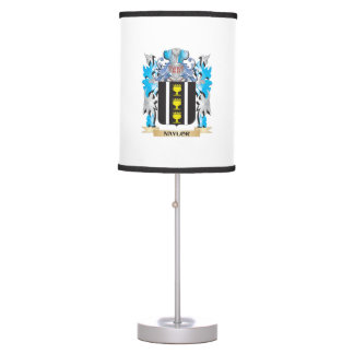 Naylor Coat of Arms - Family Crest Table Lamps