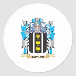 Naylor Coat of Arms - Family Crest Stickers