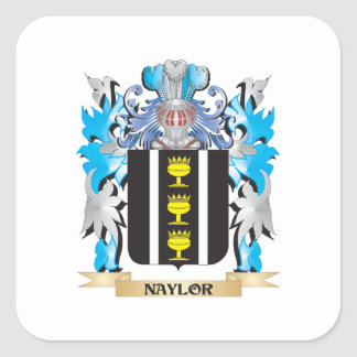 Naylor Coat of Arms - Family Crest Sticker