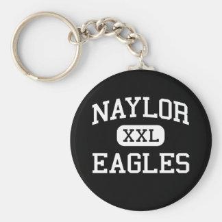 Naylor - Eagles - High School - Naylor Missouri Basic Round Button Keychain