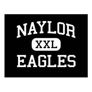 Naylor - Eagles - High School - Naylor Missouri Postcard
