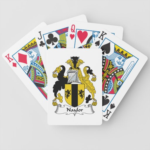 Naylor Family Crest Bicycle Playing Cards