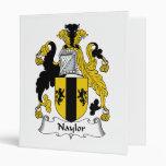 Naylor Family Crest Binder