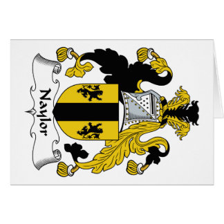 Naylor Family Crest Cards