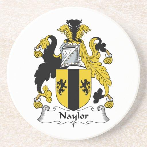 Naylor Family Crest Coaster