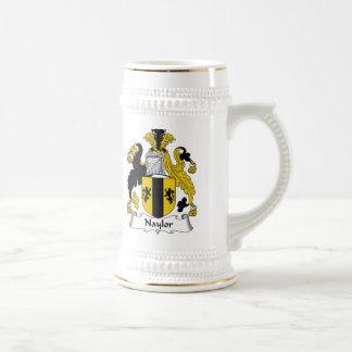 Naylor Family Crest Mugs