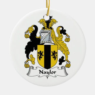 Naylor Family Crest Ornaments