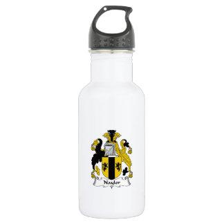 Naylor Family Crest 18oz Water Bottle