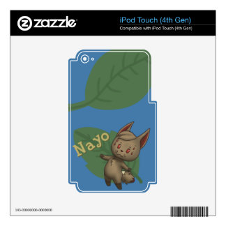 Nayo Crossing iPod Touch 4G Skins