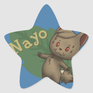 Nayo Crossing Star Sticker
