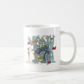 naysayers classic white coffee mug
