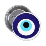 Nazar amulet (nazar boncuğu) 2 inch round button