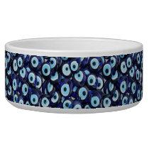 Nazar Amulets Evil Eye Stones Blue Pattern Bowl