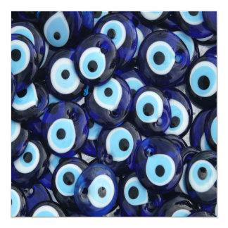 Nazar Amulets Evil Eye Stones Blue Pattern Card