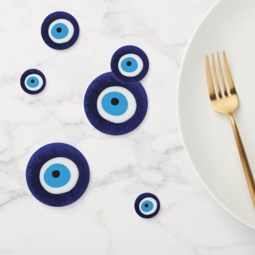 Nazar Evil Eye Protection Symbol Confetti