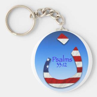 Nazarene Psalm Keychain