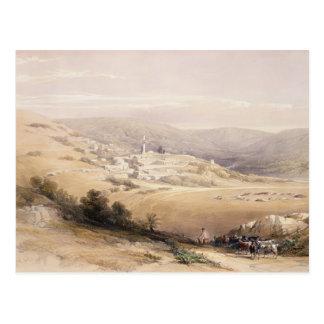 Nazaret, el 28 de abril de 1839, platea 28 del vol tarjeta postal