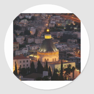 Nazaret, la ciudad de los padres de Jesús Pegatina Redonda