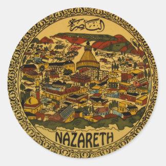 Nazareth Cityscape Sticker