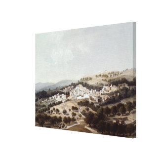 Nazareth, engraved by Terry Canvas Print