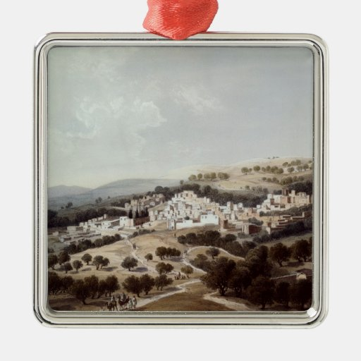 Nazareth, engraved by Terry Ornaments
