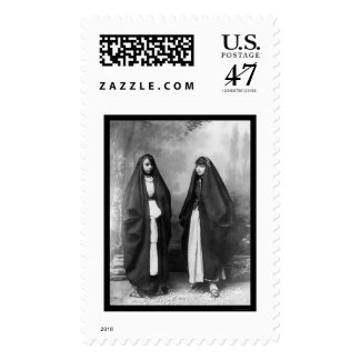 Nazareth Palestine Women 1920 Postage Stamp