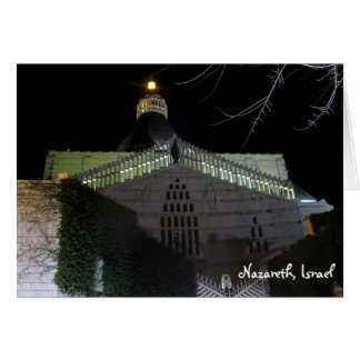 Nazareth Scene Greeting Card