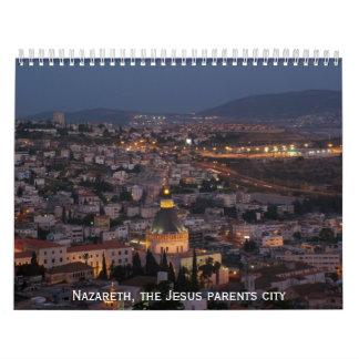 Nazareth the biblical city of Jesus parents Calendars