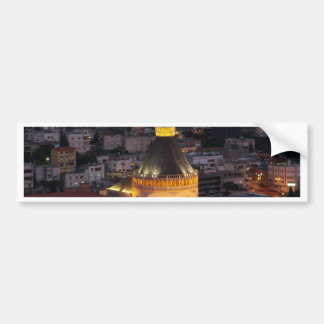 Nazareth, the city of Jesus parents Bumper Sticker